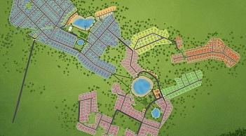 План поселка Лесные озера